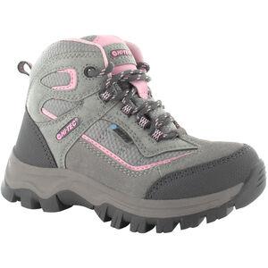 Hi-Tec Hillside WP Shoes Kinder grey/pink grey/pink