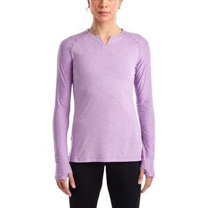 saucony Breakthru Langarm-Shirt Damen sunlit allium sunlit allium
