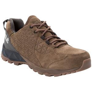 Jack Wolfskin Cascade Hike LT Texapore Low Schuhe Herren dark wood/phantom dark wood/phantom