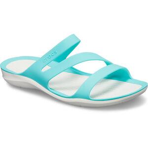 Crocs Swiftwater Sandals Damen pool/white pool/white