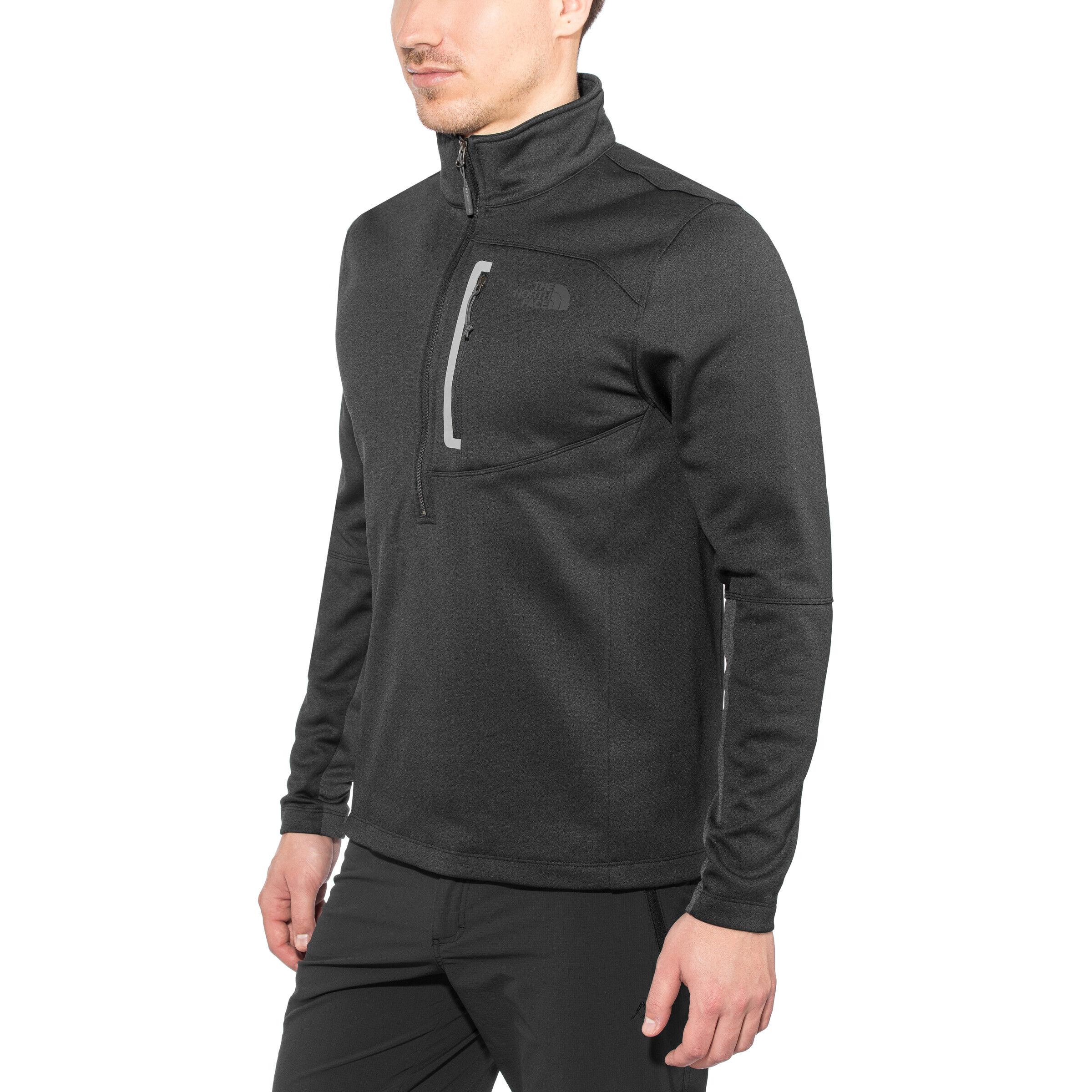 The North Face Canyonlands 12 Zip Shirt Herren tnf black