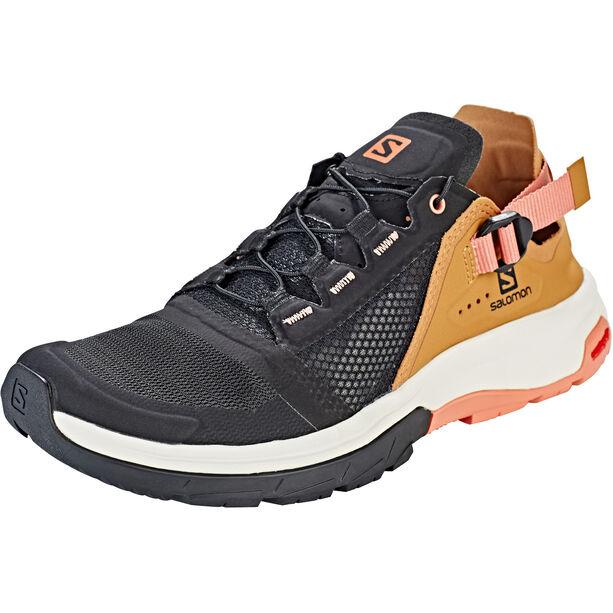 Salomon Techamphibian 4 Schuhe Damen black/bistre/tawny orange