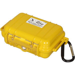 Peli MicroCase 1010 Box yellow yellow