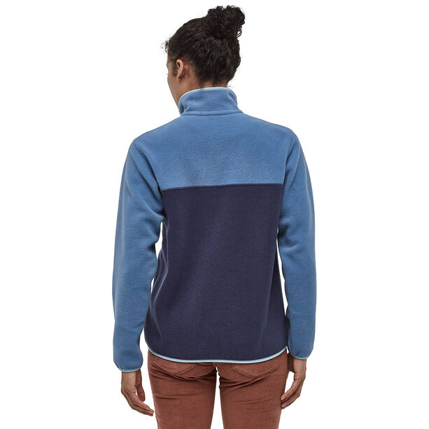 Patagonia Lightweight Synchilla Snap-T Pullover Damen neo navy/woolly blue