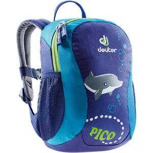 Deuter Pico Rucksack 5l Kinder indigo-turquoise indigo-turquoise