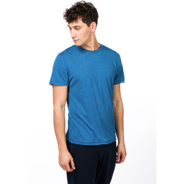 super.natural Everyday T-Shirt Herren vallarta blue melange