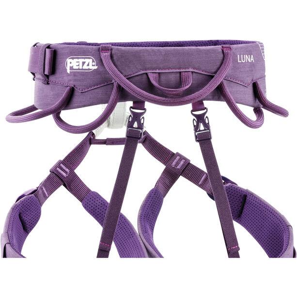 Petzl Luna Klettergurt Damen violett