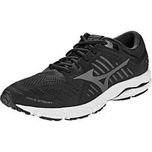 Mizuno Wave Stream Running Shoes Herren black/ombre blue/white black/ombre blue/white