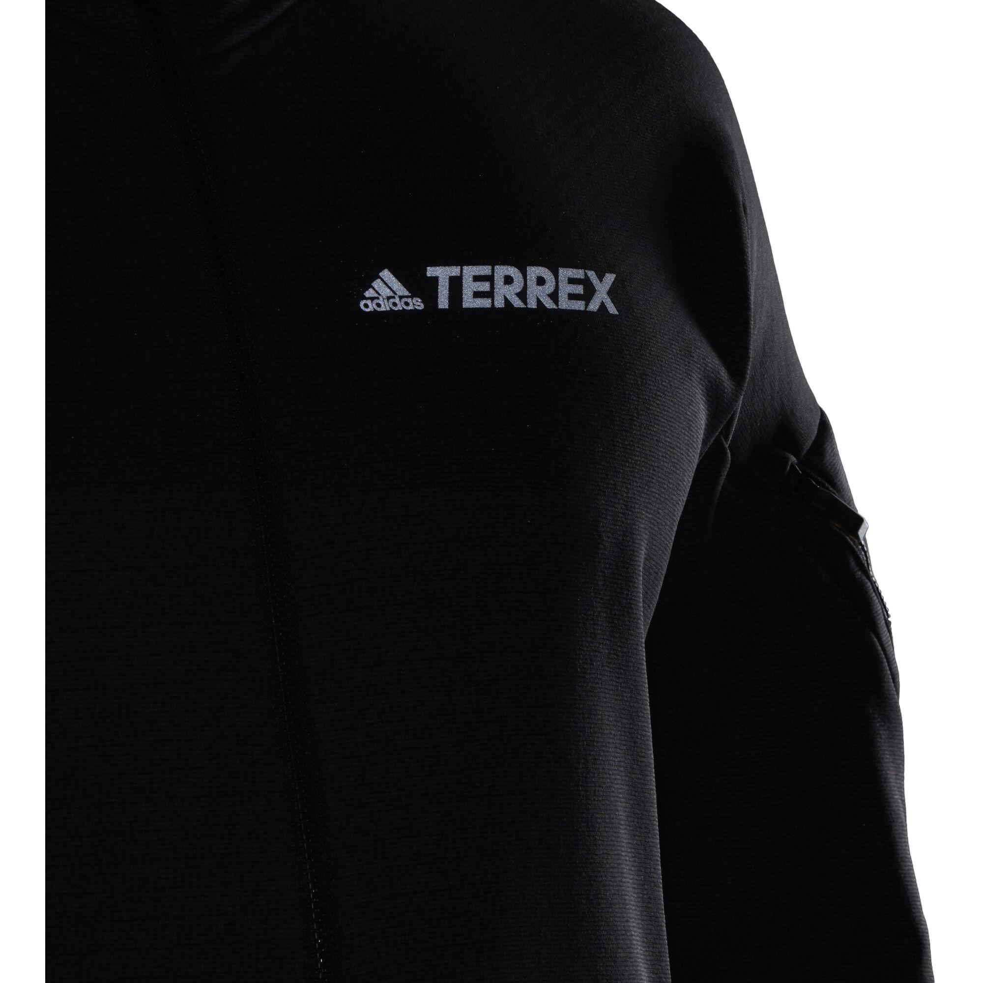 adidas TERREX Climaheat Kapuzen Fleecejacke Herren black