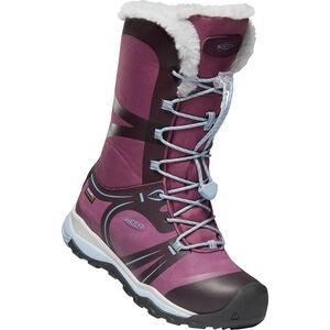 Keen Terradora Winter WP Shoes Jugend winestasting/tulipwood winestasting/tulipwood