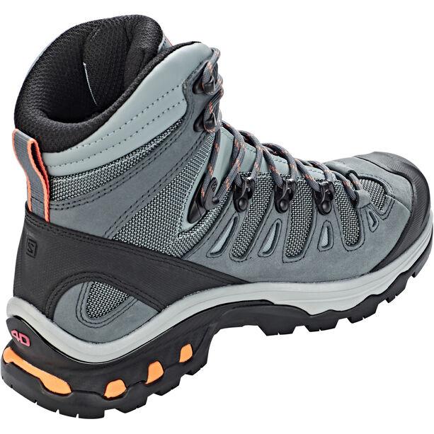 Salomon Quest 4D 3 GTX Shoes Damen lead/stormy weather/bird of paradise
