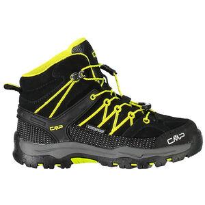 CMP Campagnolo Rigel Mid WP Trekking Shoes Kinder nero-limeade nero-limeade