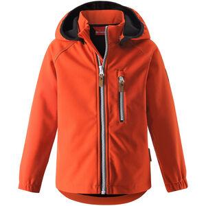 Reima Vantti Softshell Jacke Kinder orange orange