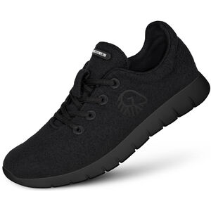 Giesswein Merino Wool Runners Herren schwarz schwarz