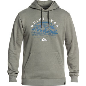 Quiksilver Big Logo Snow Hoodie Herren agave green agave green