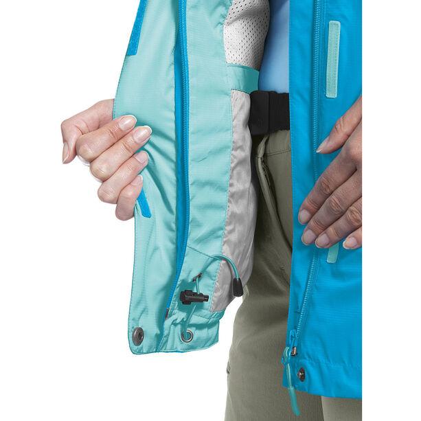 Maier Sports Metor 2 Layer Packaway Jacket Damen hawaiian ocean