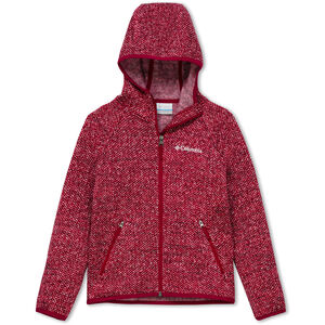 Columbia Chillin Full Zip Fleece Jacke Jugend pomegranate pomegranate