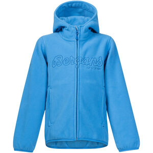 Bergans Bryggen Jacke Kinder light winter sky/athens blue light winter sky/athens blue