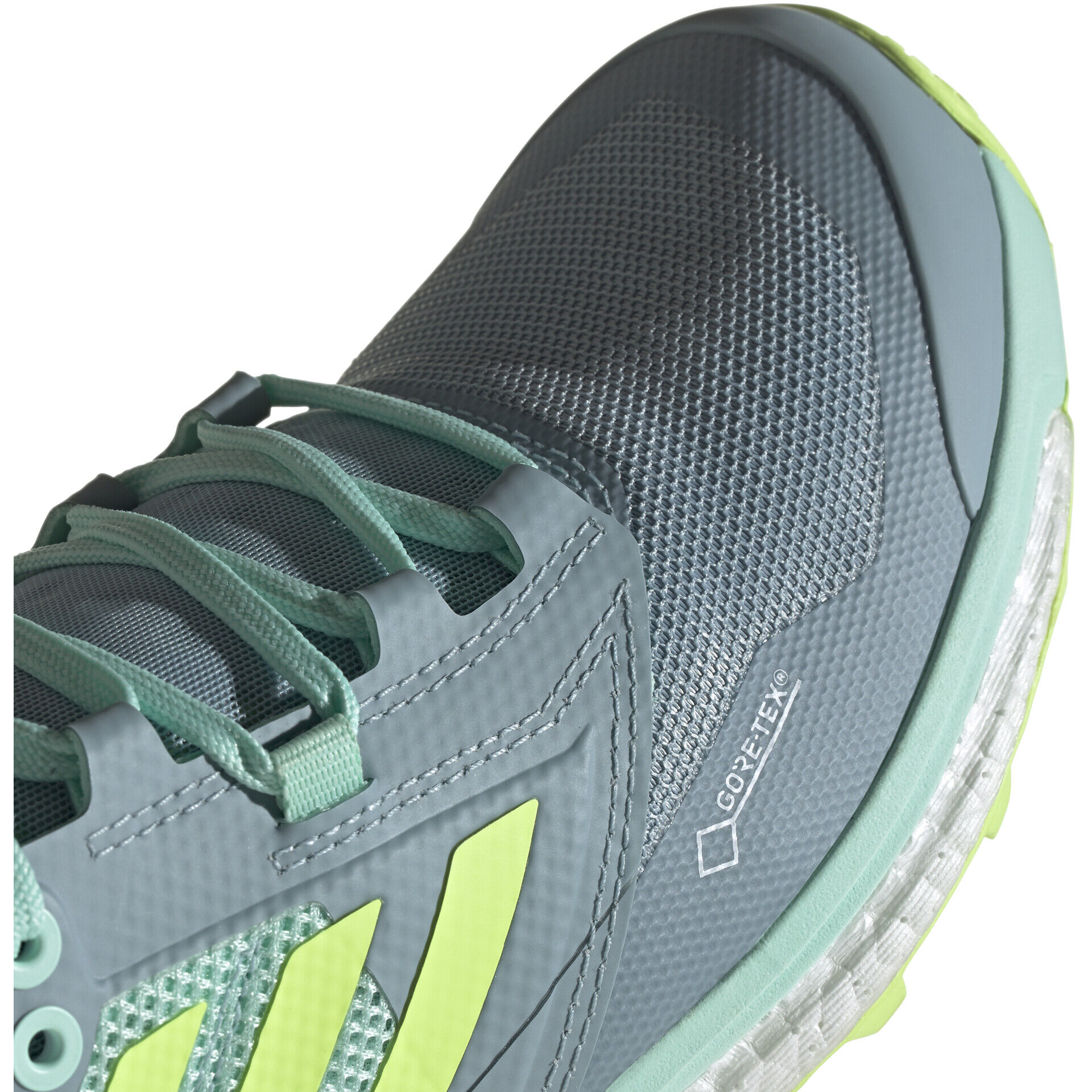 adidas TERREX Agravic XT GTX Schuhe Damen ash greyhi res yellowclear mint