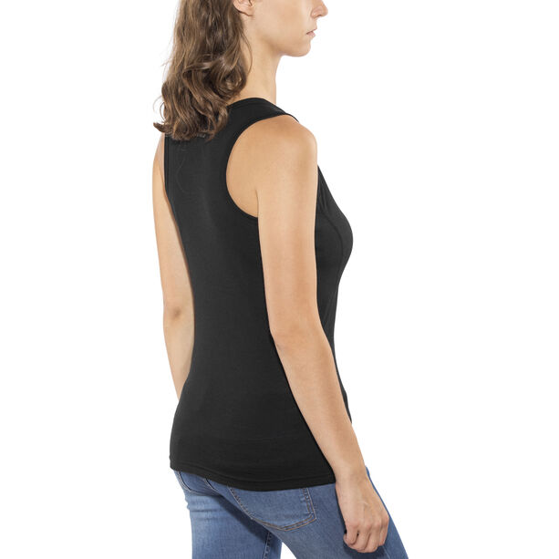 Devold Breeze V-Neck Singlet Damen black