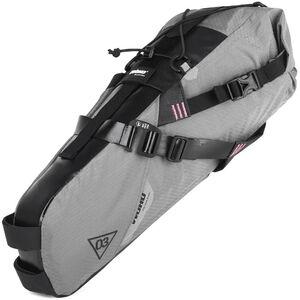 WOHO X-Touring Saddle Dry Bag M honeycomb iron grey honeycomb iron grey