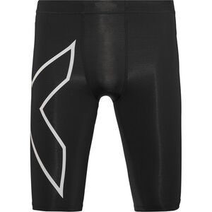 2XU Run Compression Shorts Herren black/silver reflective black/silver reflective