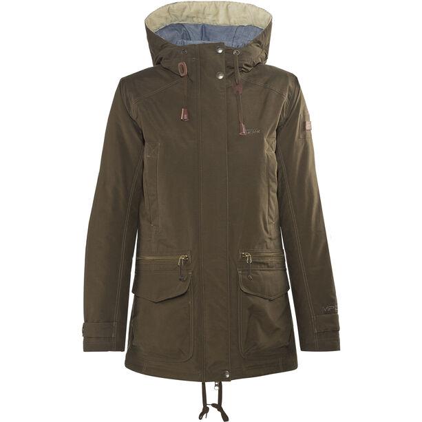 Tenson Alma Jacket Damen dark khaki