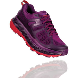 Hoka One One Stinson ATR 5 Laufschuhe Damen grape juice/poppy red grape juice/poppy red