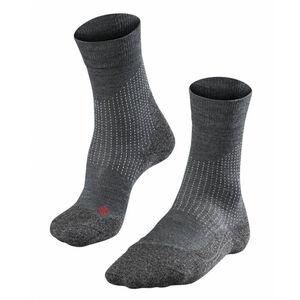 Falke Stabilizing Wool Socks Damen asphalt melange asphalt melange