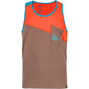 La Sportiva Dude Tank Herren falcon brown/tangerine falcon brown/tangerine