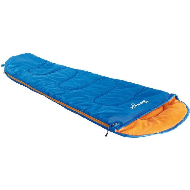 High Peak Boogie Schlafsack links Kinder blau/orange