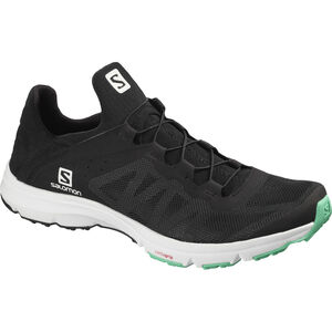 Salomon Amphib Bold Shoes Damen black/white/electric green black/white/electric green