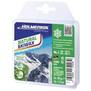 Holmenkol Natural Ski Wachs 2x35g