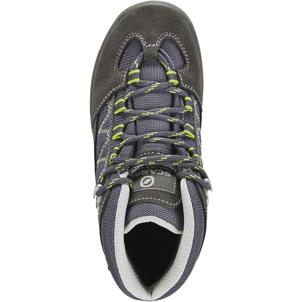Scarpa Cyclone Shoes Kinder smoke/wildlime