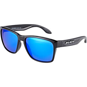 Rudy Project Spinhawk Glasses black gloss - rp optics multilaser blue black gloss - rp optics multilaser blue