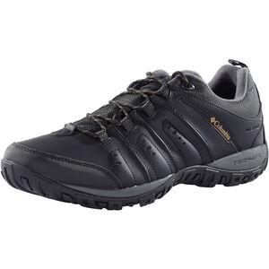 Columbia Woodburn II Shoes Waterproof Men black/caramel black/caramel