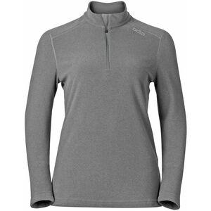 Odlo Le Tour Midlayer 1/2 Zip Damen grey melange grey melange