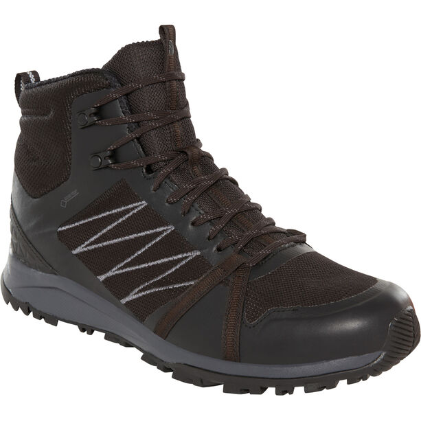 The North Face Litewave Fastpack II Mid GTX Shoes Herren tnf black/ebony grey