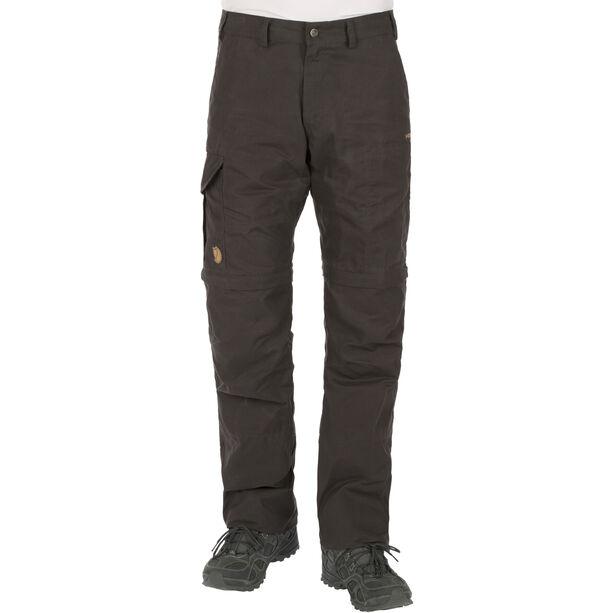 Fjällräven Karl Zip-Off Trousers Herren dark grey