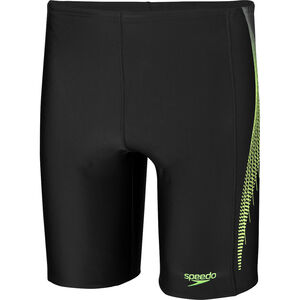 speedo Placement Jammers Herren black/bright zest/oxid grey black/bright zest/oxid grey