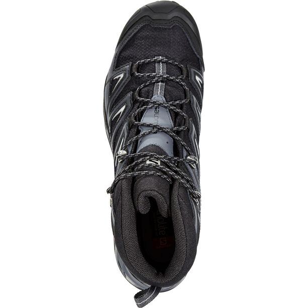 Salomon X Ultra 3 Wide Mid GTX Schuhe Herren black/india ink/monument