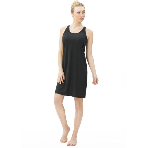 super.natural Essential Racer Dress Damen jet black