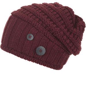 Eisbär Cullen Oversize Mütze Damen bordeaux bordeaux