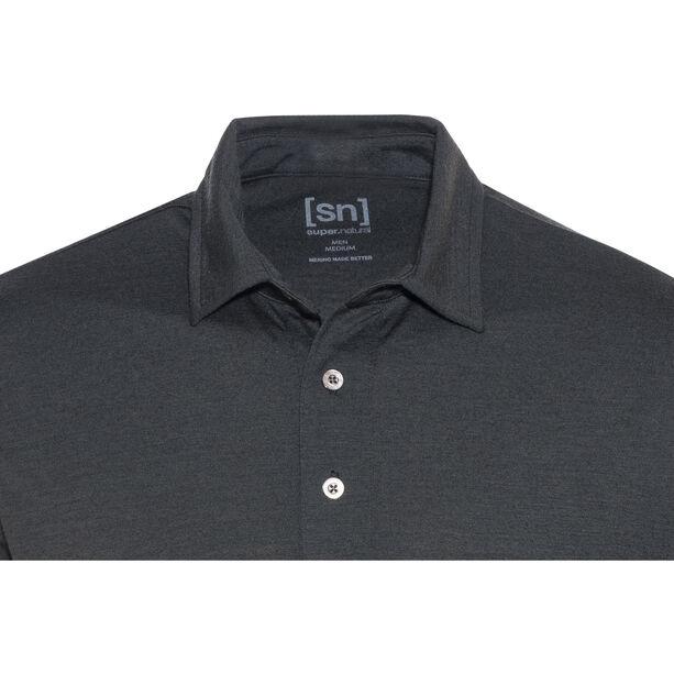 super.natural Essential Polo Shirt Herren caviar