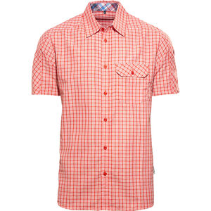 axant Alps Travel Shirt Agion Active Herren red check red check