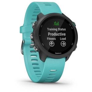Garmin Forerunner 245 Music GPS Smartuhr black/aqua black/aqua