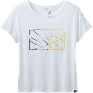 Prana Chez T-Shirt Damen white sun down white sun down