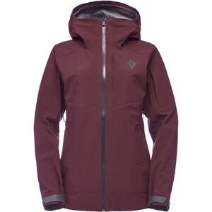 Black Diamond Recon Stretch Ski Shell Jacke Damen bordeaux bordeaux