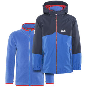 Jack Wolfskin B Iceland 3in1 Jacket Kinder coastal blue coastal blue