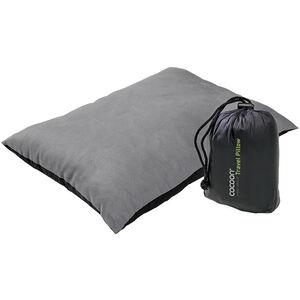 Cocoon Travel Pillow Microfiber/Nylon Shell Synthetic Fill Medium charcoal/smoke grey charcoal/smoke grey
